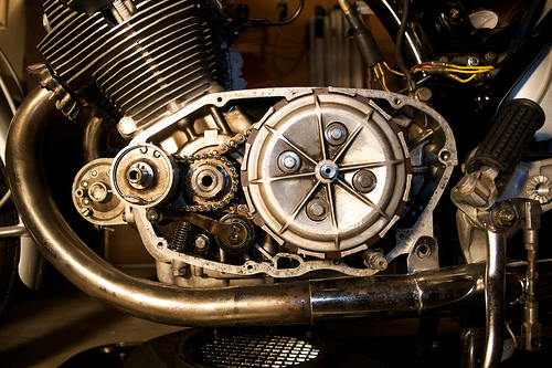 The Antique Motorcycle Honda Cb77 Super Hawk Development