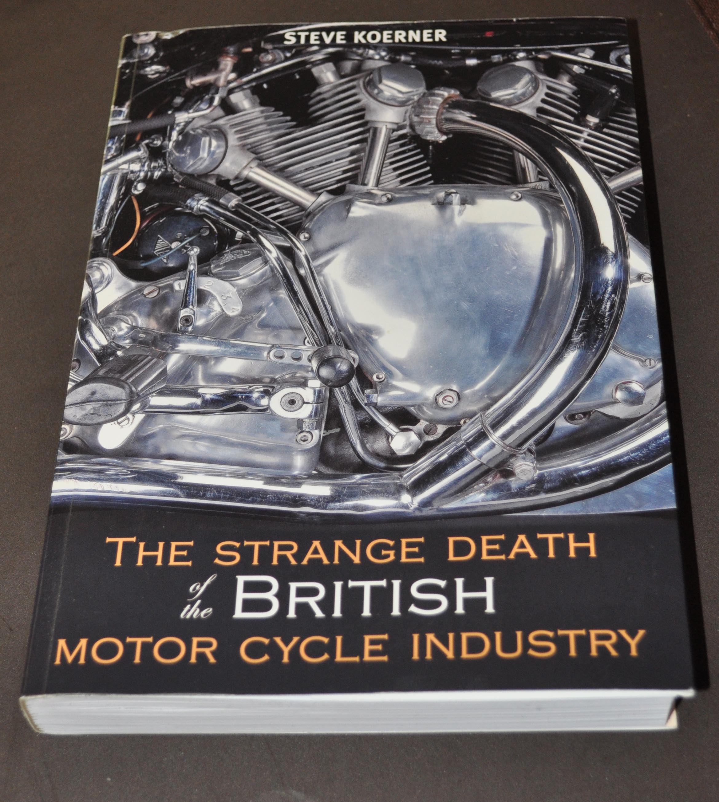 the british motorcycle industry at a crossroads This document contains the following information: strategy alternatives for the  british motorcycle industry a report presented to the secretary of.